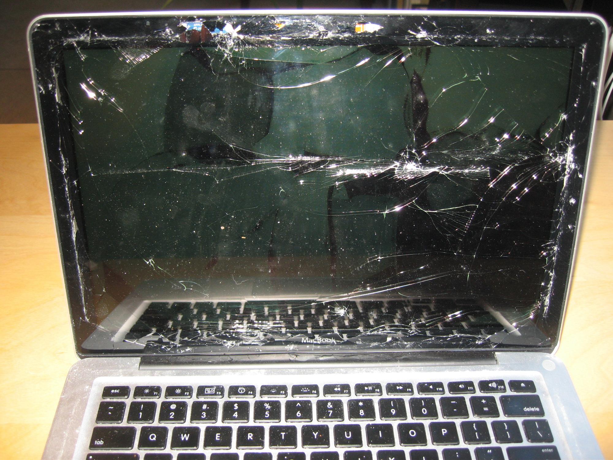 Destroyed Mac