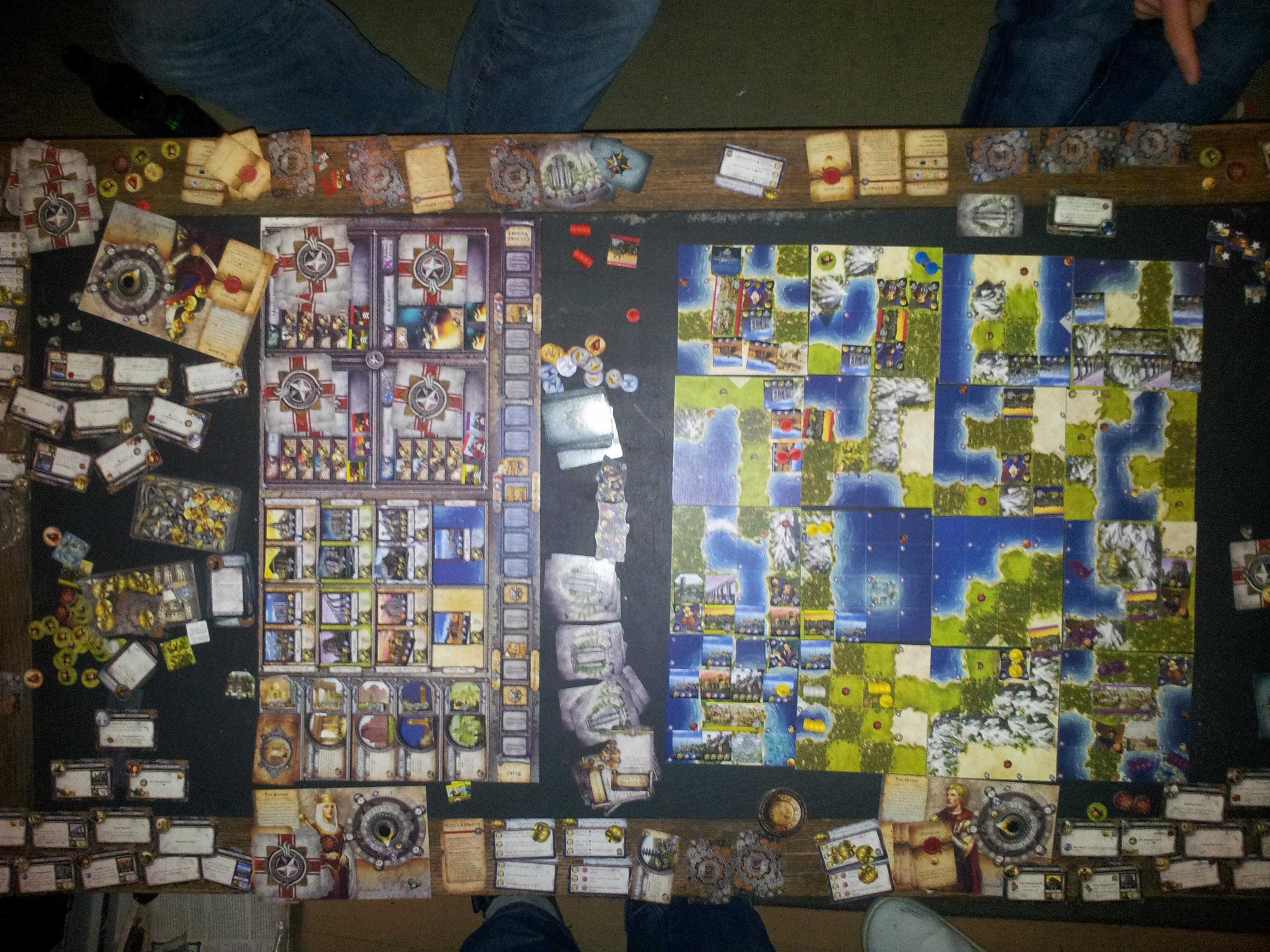 Civilization Board Game Table