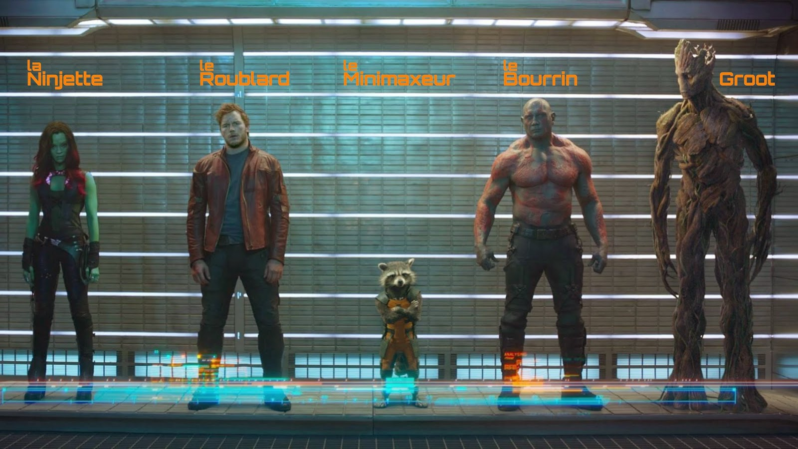 Guardians of the Galaxy version JDR