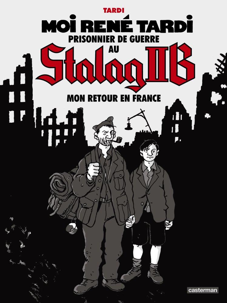 Stalag IIb: Mon retour en France