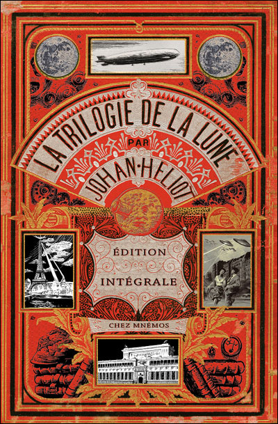 """La Trilogie de la Lune"", de Johan Heliot"