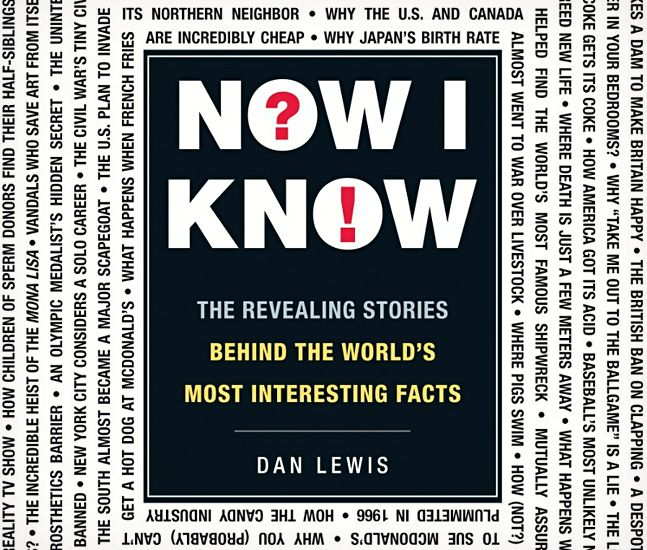 """Now I Know"" de Dan Lewis"