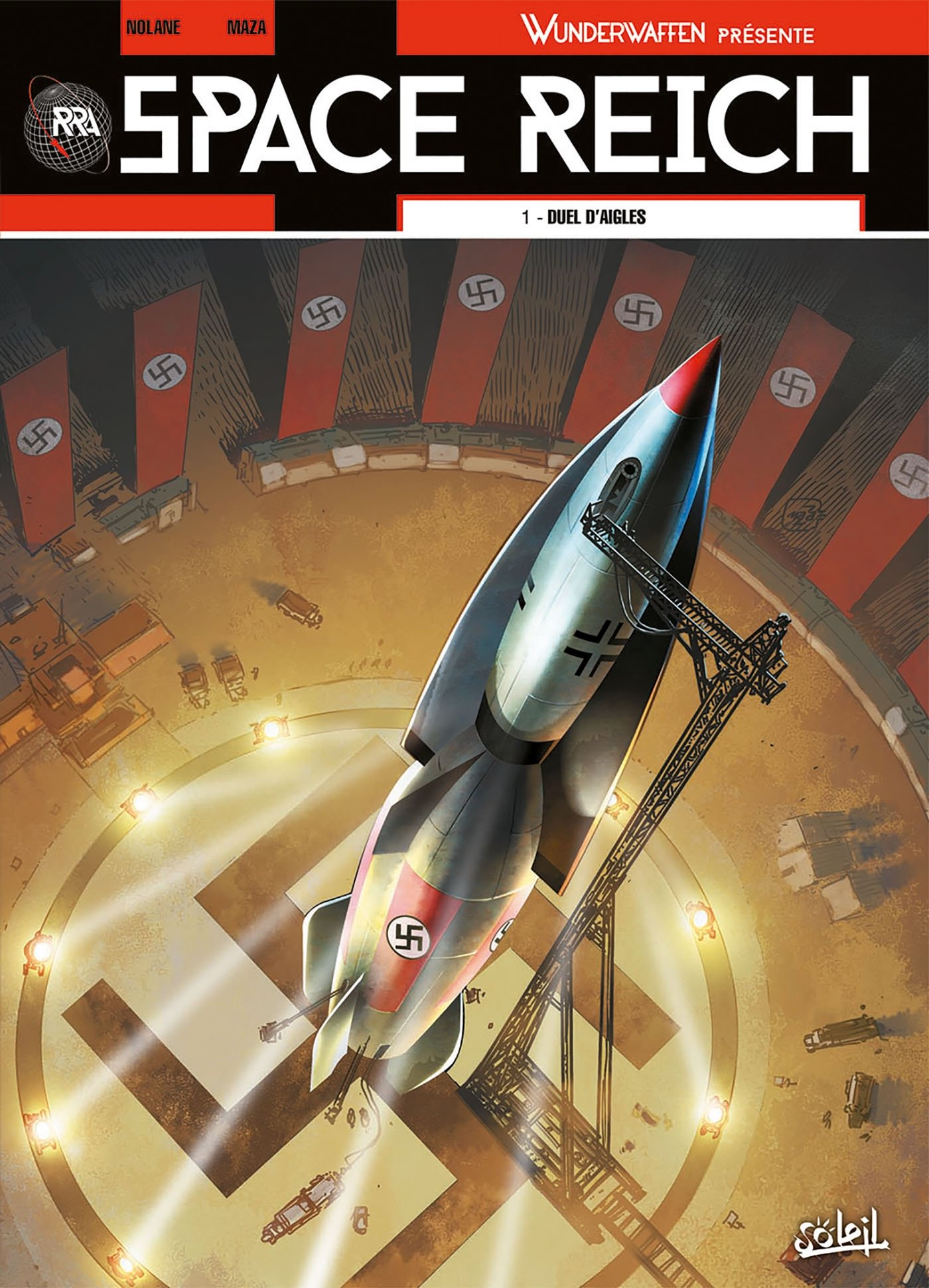 Space Reich, tome 1: Duel d'aigles
