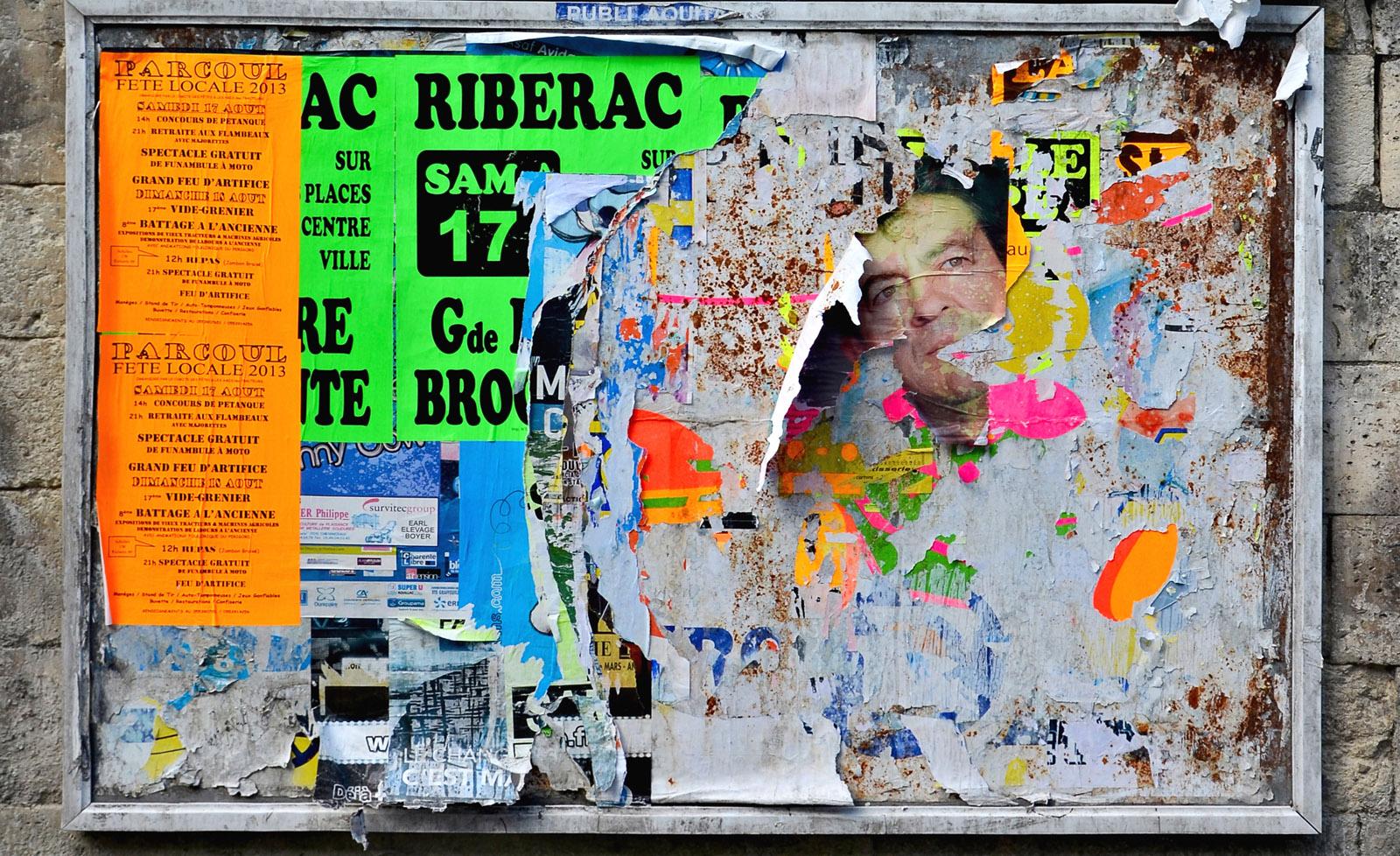 Chalais 16 Panneaux d'affichage 2013