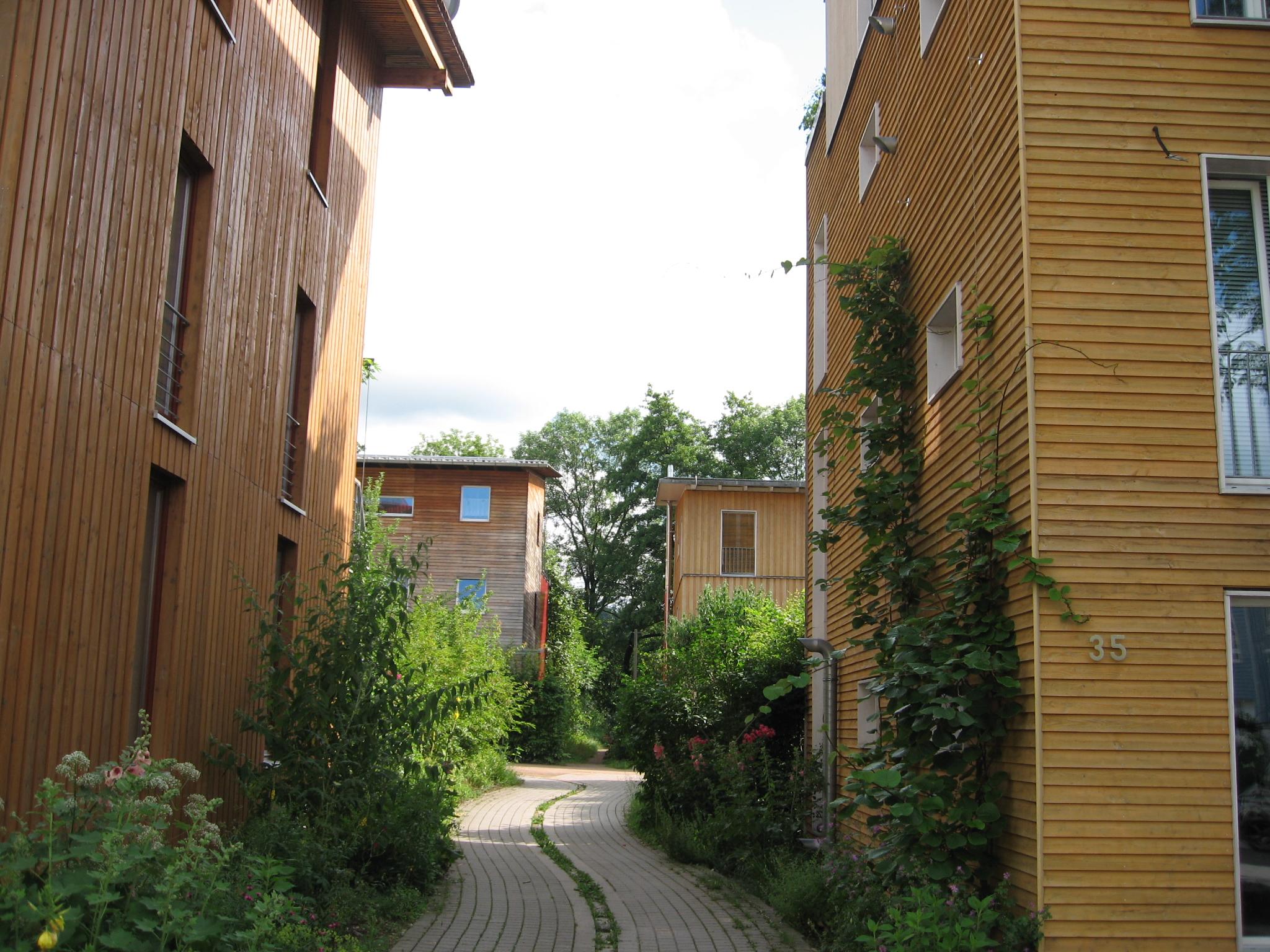 Écoquartier Vauban, Fribourg