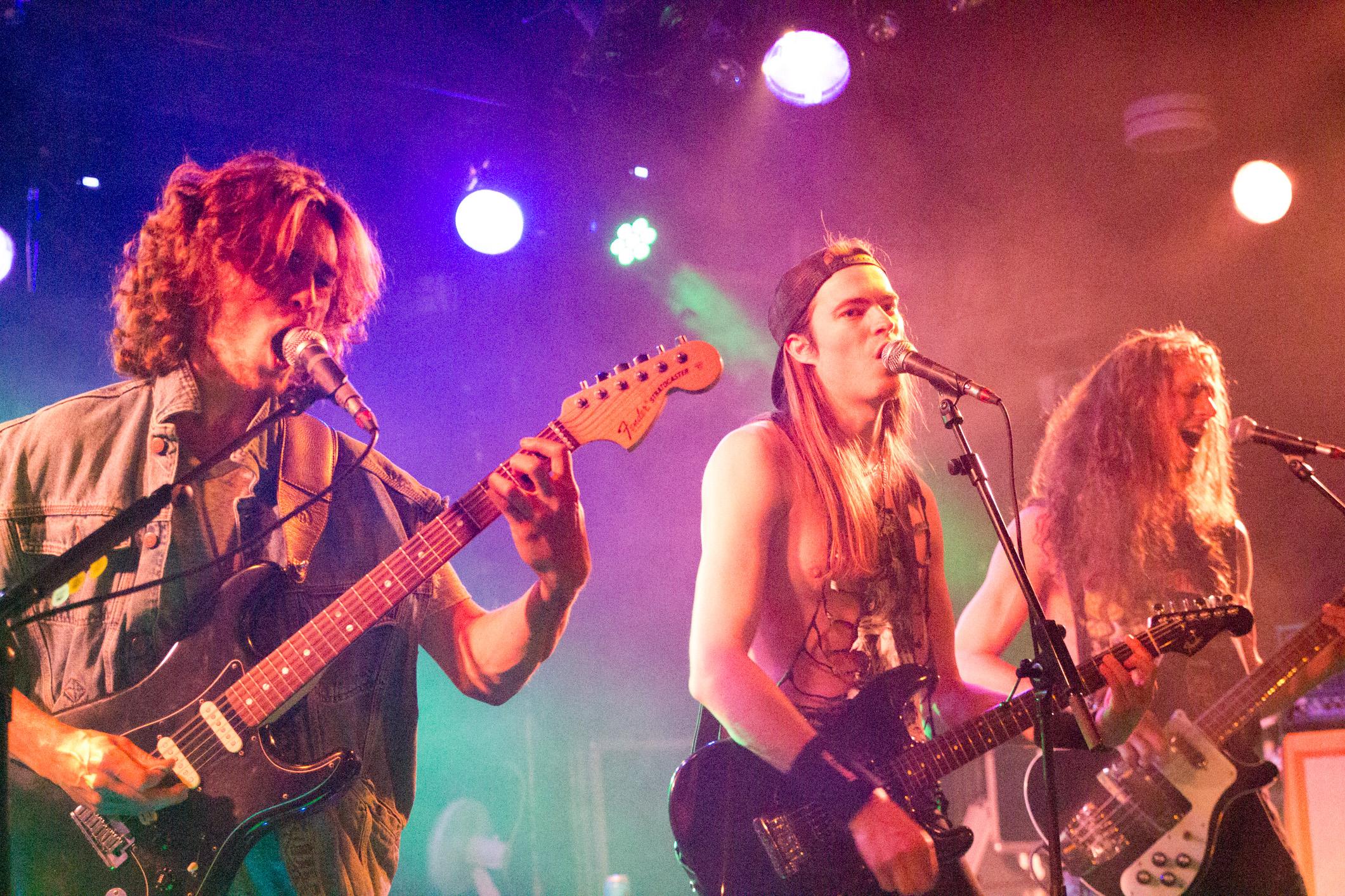 Hellsight (heavy-metal, Genève) en concert à l'Undertown de Meyrin, 19 septembre 2015