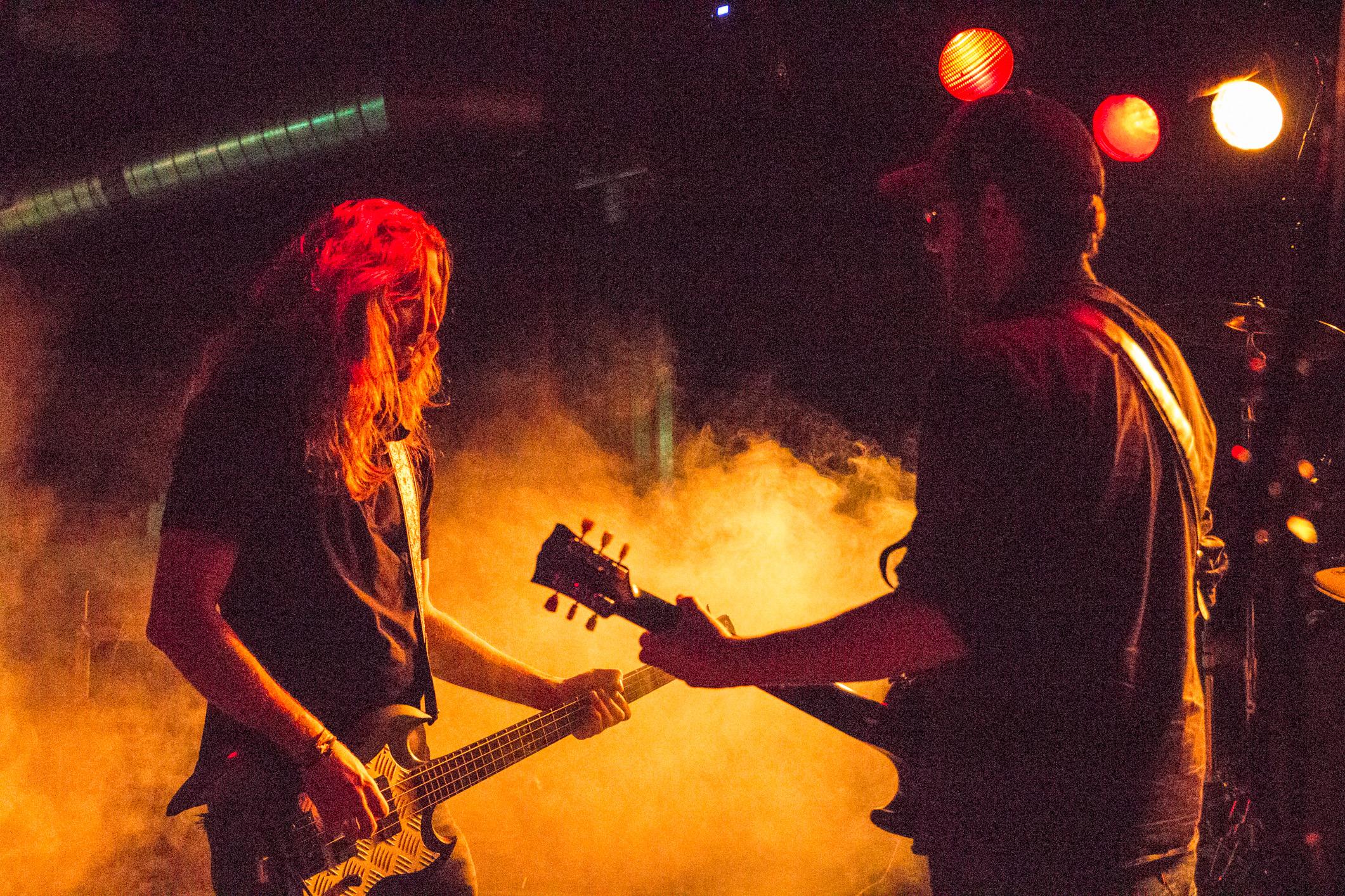 Mudcats (rock'n'roll, genève) en concert à l'Undertown de Meyrin, 19 septembre 2015