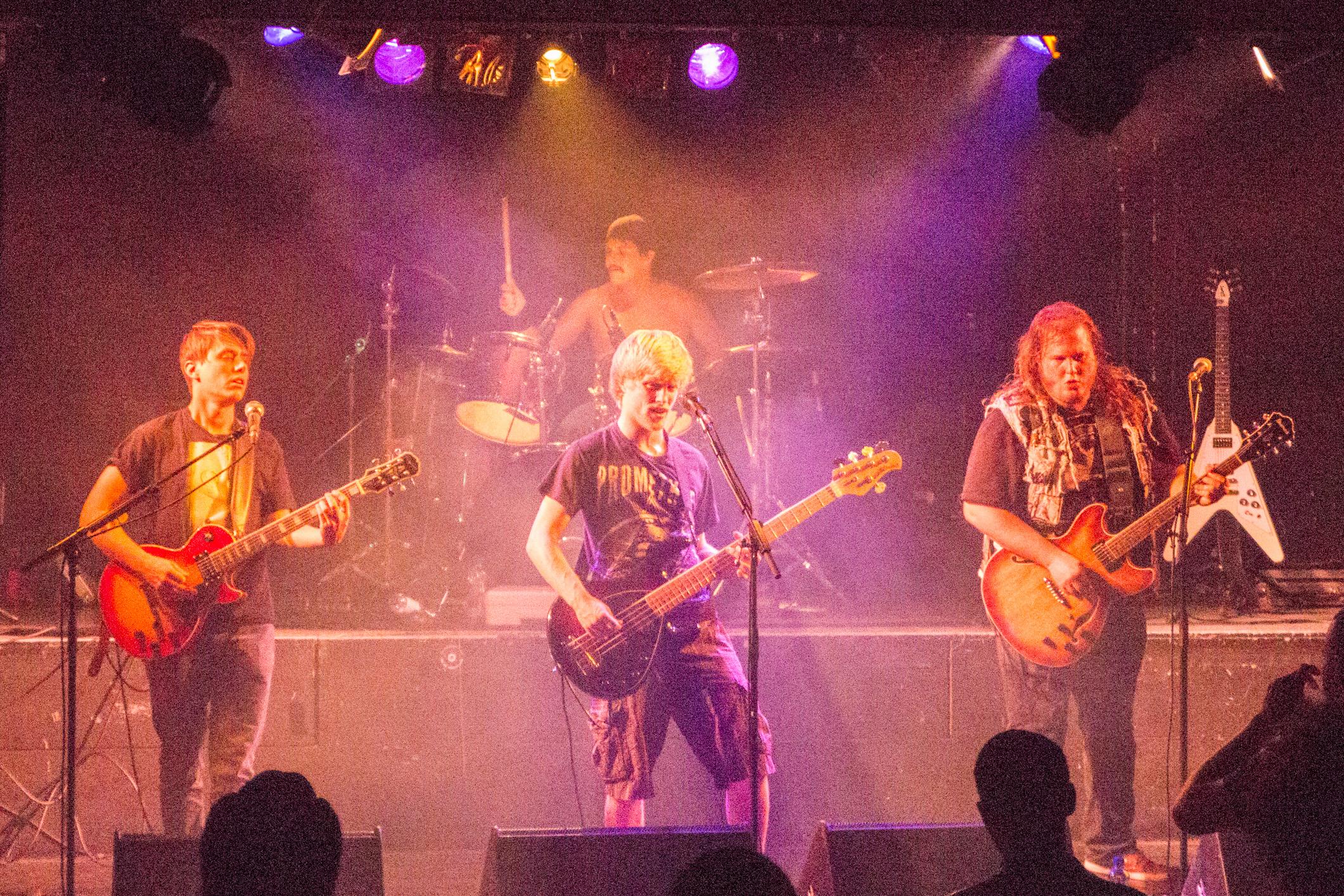 The Burden Remains (thrash-prog, Fribourg) en concert à l'Undertown de Meyrin, 19 septembre 2015