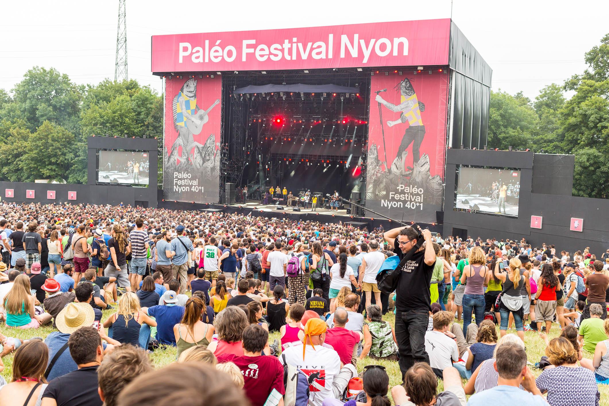 Paléo Festival Nyon, édition 2016