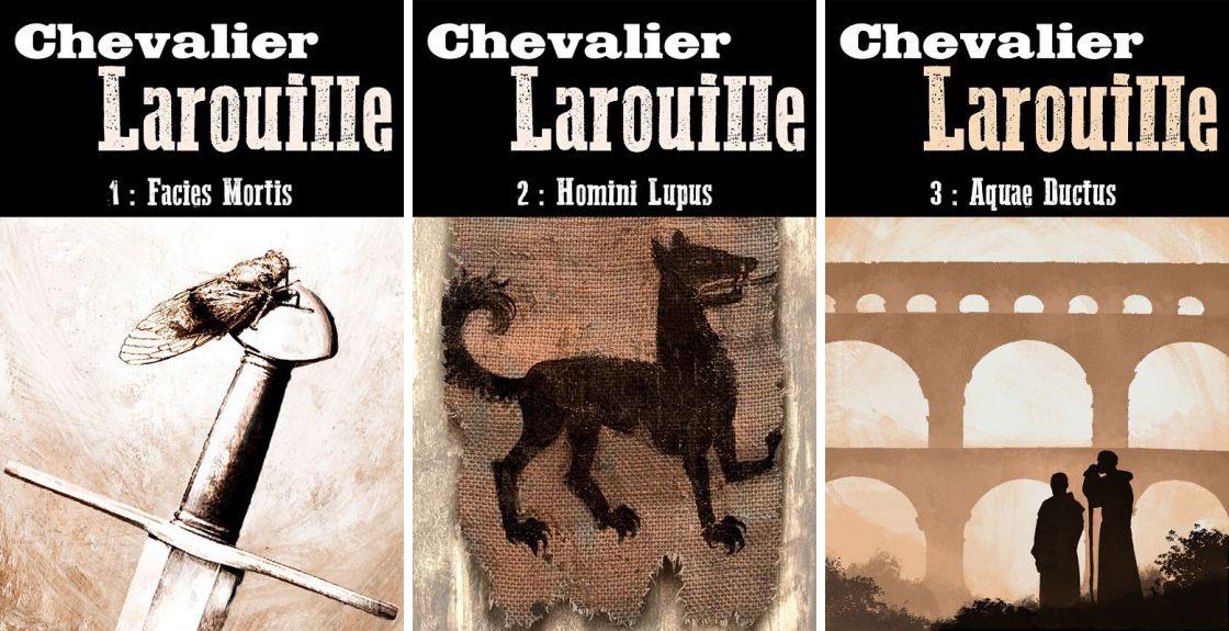 """""""Chevalier Larouille"""", tomes 1-3, de Mathieu Okubo"""