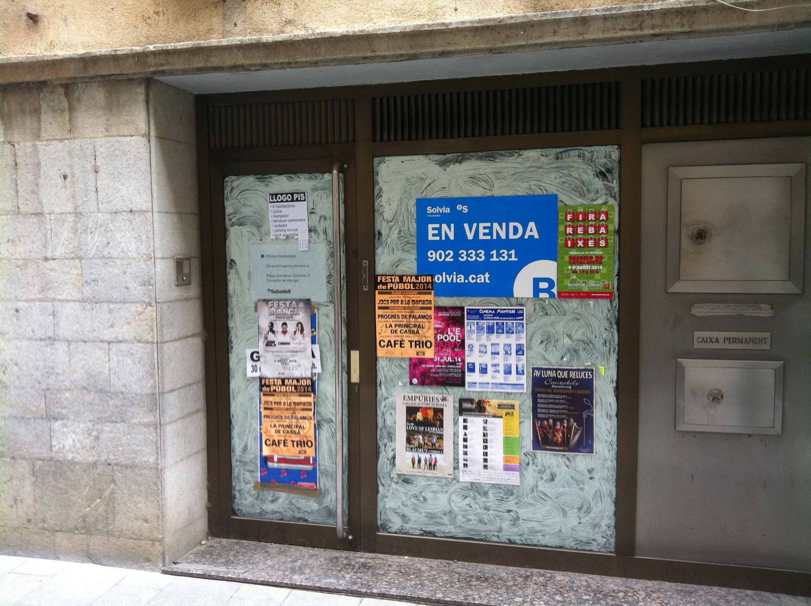 Sabadell bank branch closed in Torroella