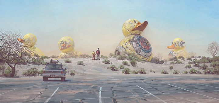 "Simon Stålenhag: ""Ducks"""