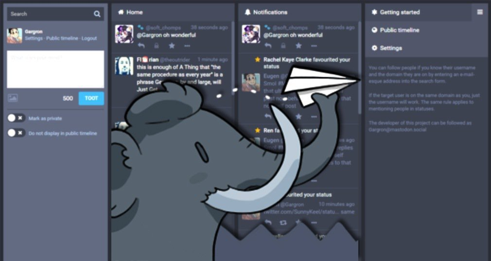 Mastodon (réseau social)