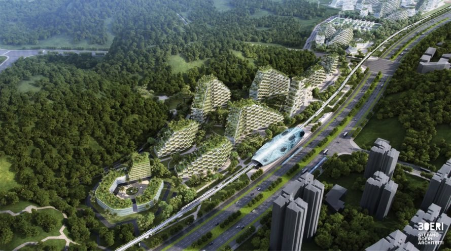 Liuzhou Forest City by Stefano Boeri, Architect