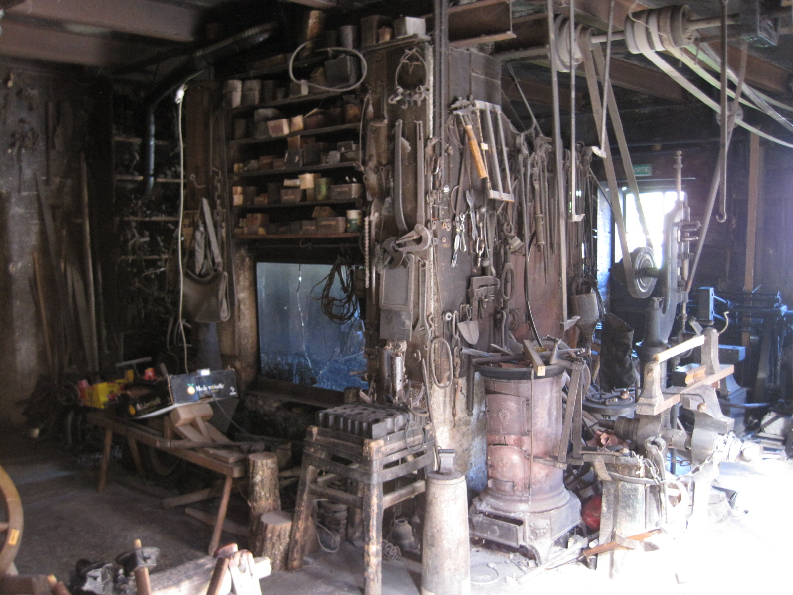 Atelier de forgeron de Louis Girard