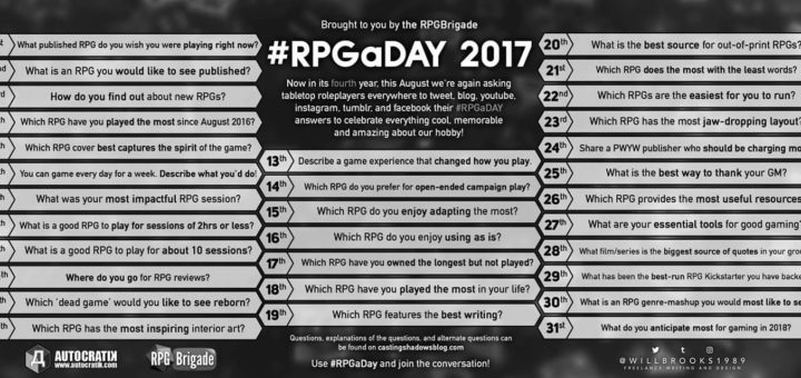 RPGaDay 2017