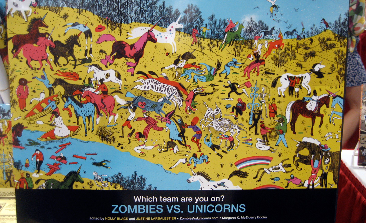 """Zombies vs Unicorns"""
