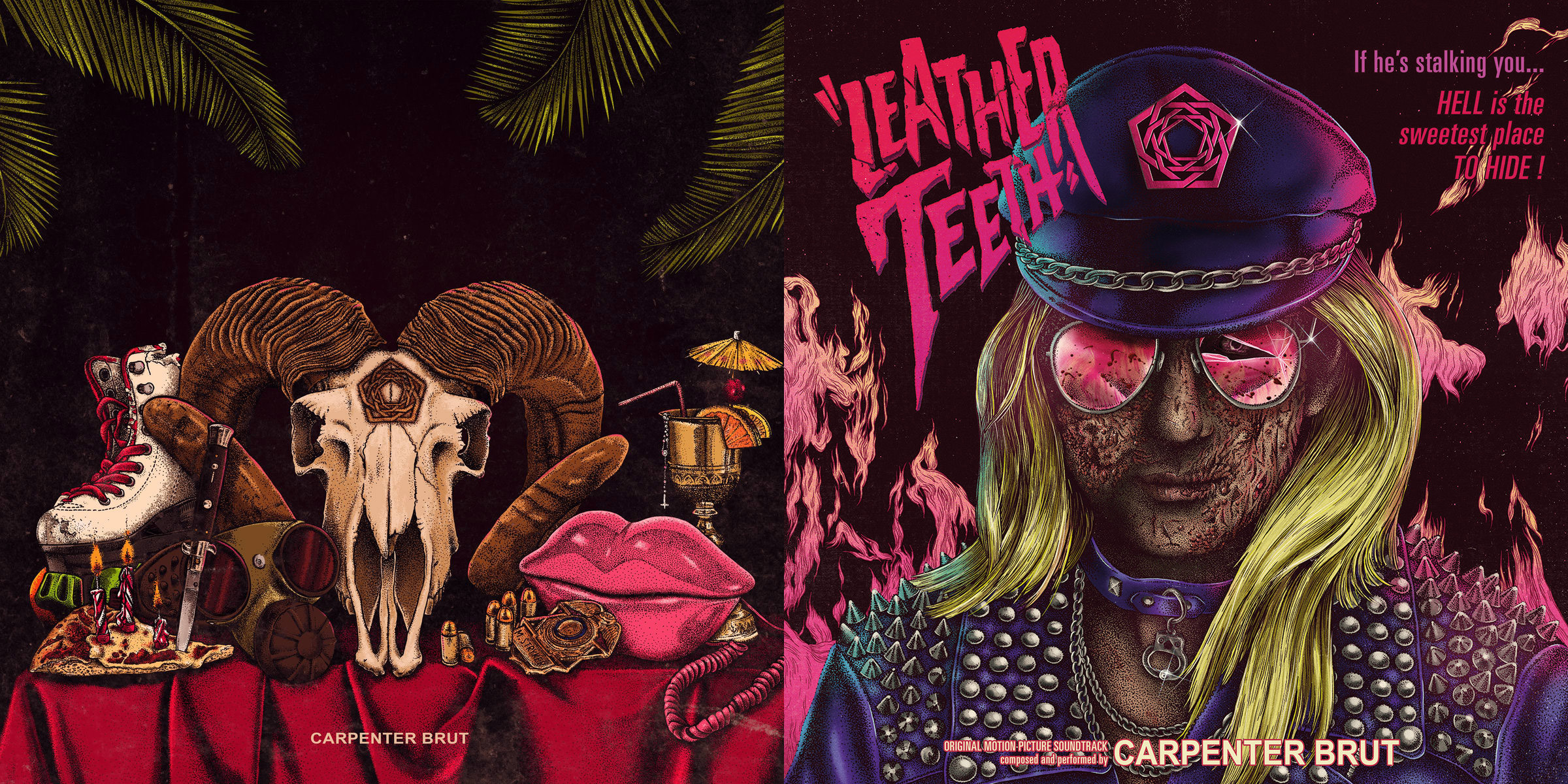 Carpenter Brut: Leather Teeth / Trilogy