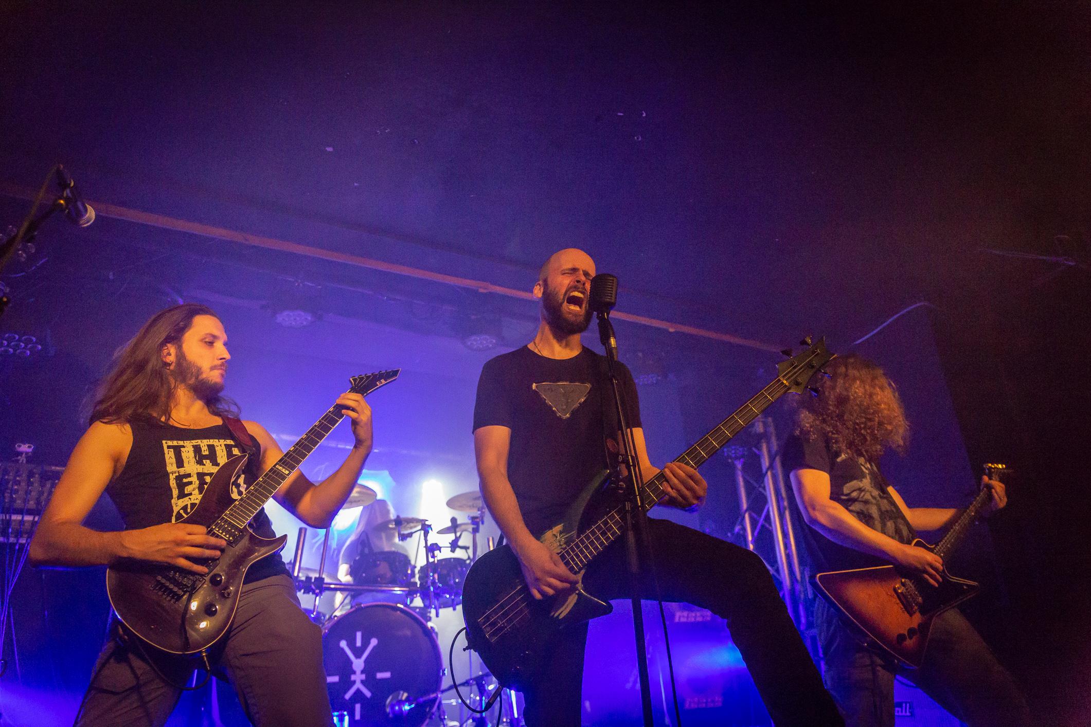 The Erkonauts (progressive punk metal, Suisse), en concert au Bouffon de la Taverne, Genève, 1er juin 2018.