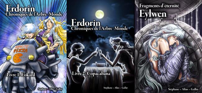 Erdorin, Chroniques de l'Arbre-Monde (livres 1-3)