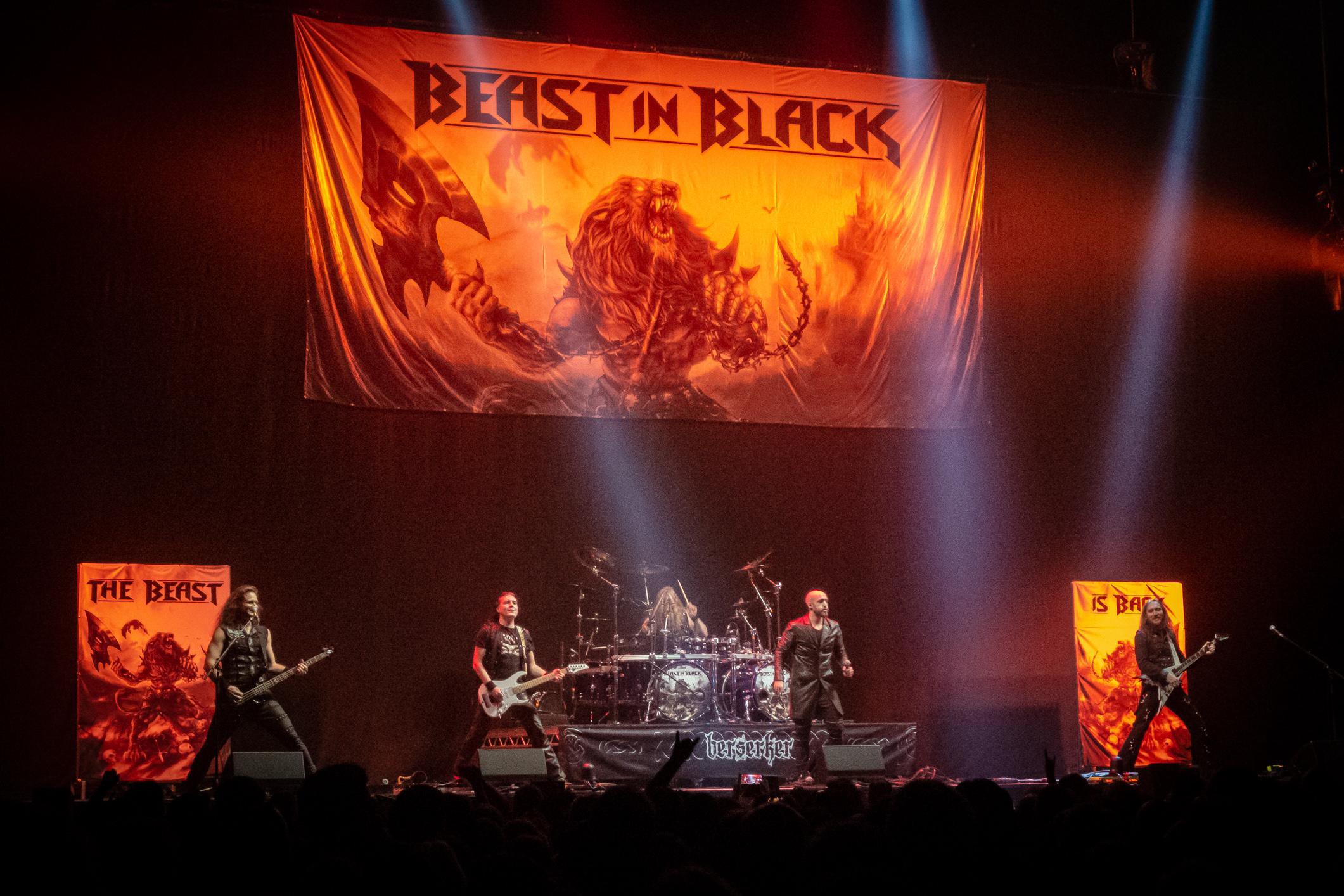 Beast in Black à Genève