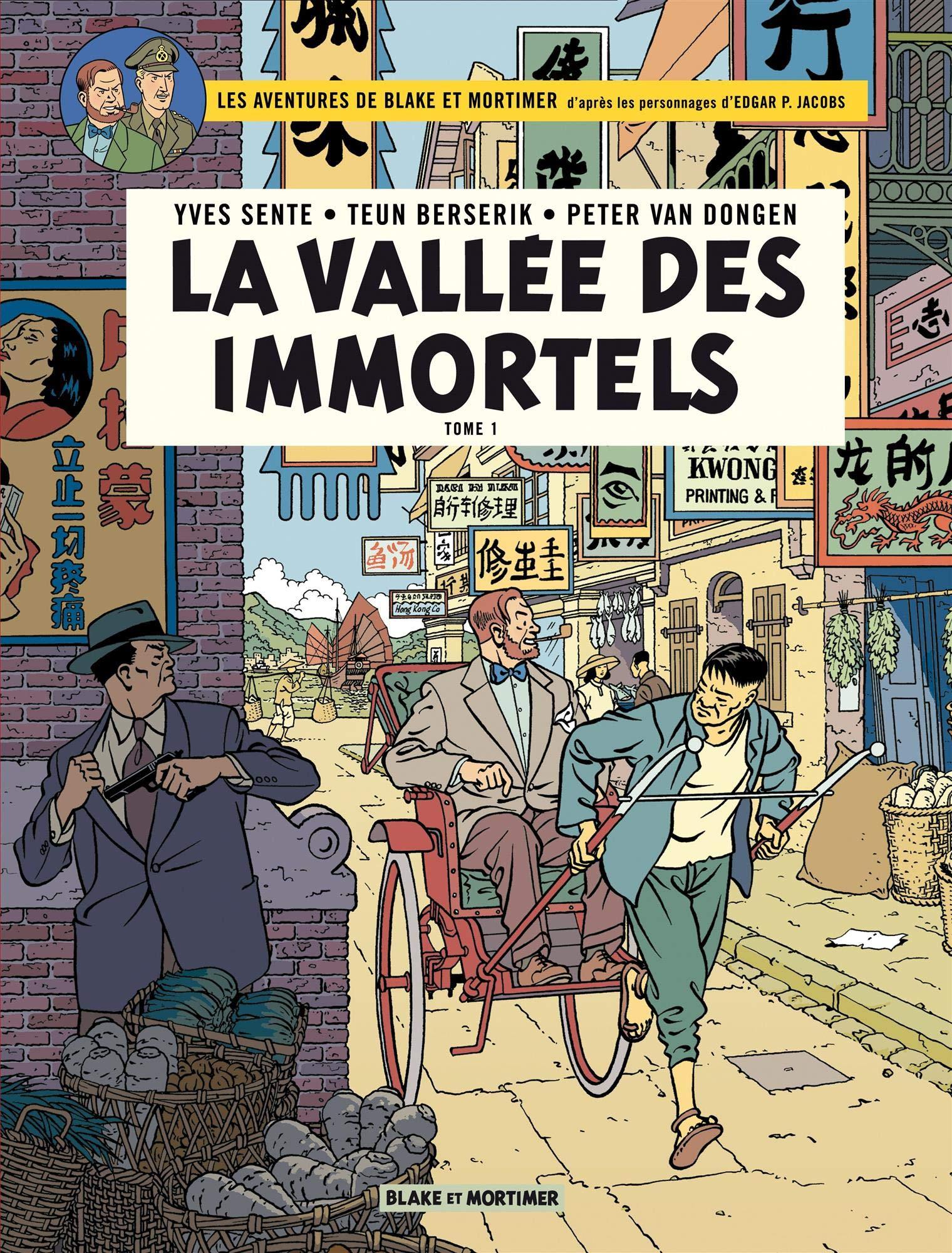 Blake et Mortimer: La Vallée des Immortels