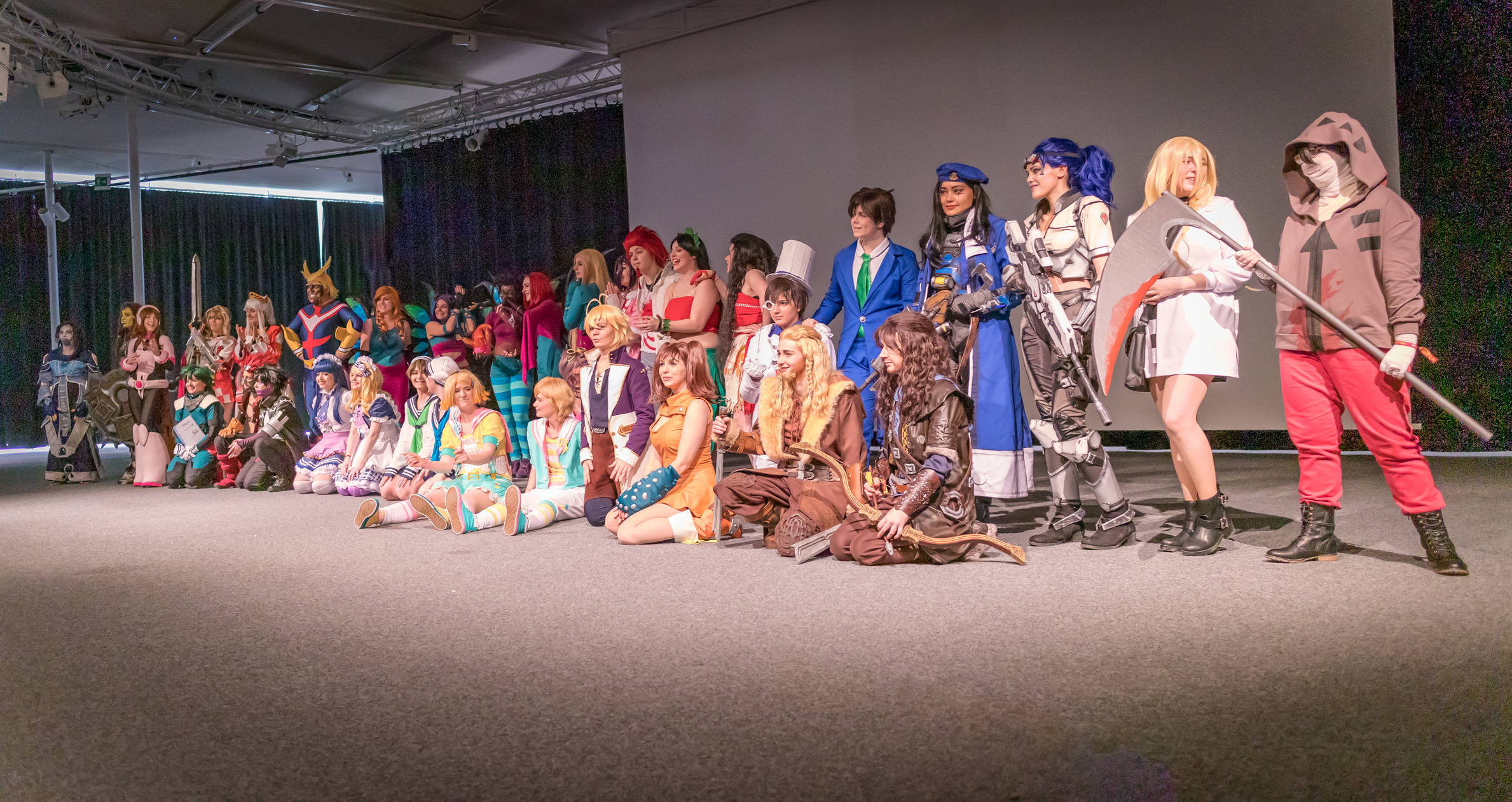 Japan Impact 2019 cosplay groupe