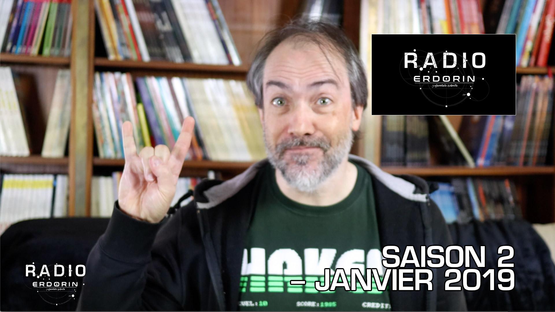 Radio-Erdorin S2E1 – Janvier 2019