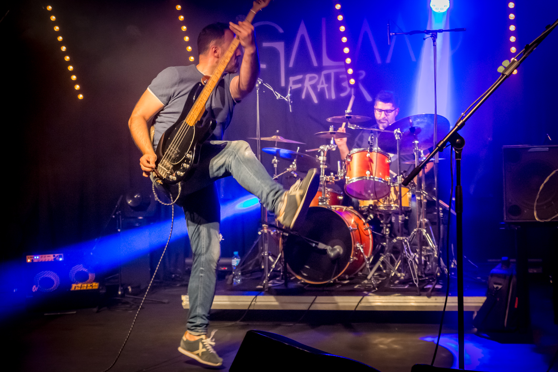 Ice Cream Men (blues-rock, Suisse) en concert à l'Azimut d'Estavayer-le-Lac (Suisse), le 18 mai 2019. Photo: Stéphane Gallay, sous licence Creative Commons (CC-BY)