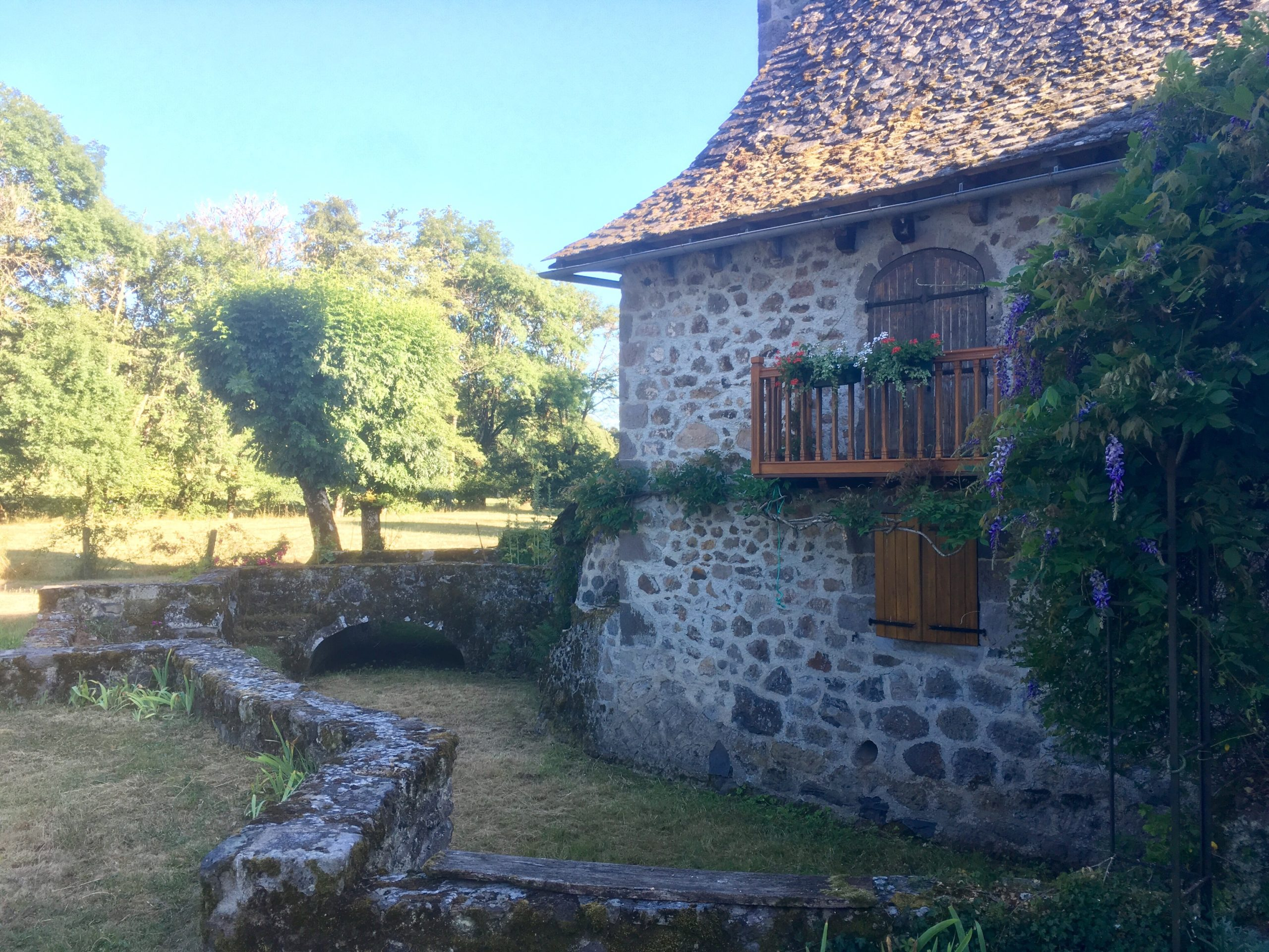 Un ancien moulin en Auvergne