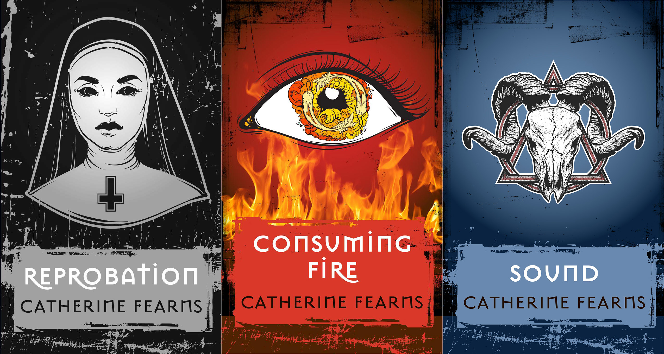 « Reprobation », « Consuming Fire » et « Sound », de Catherine Fearns