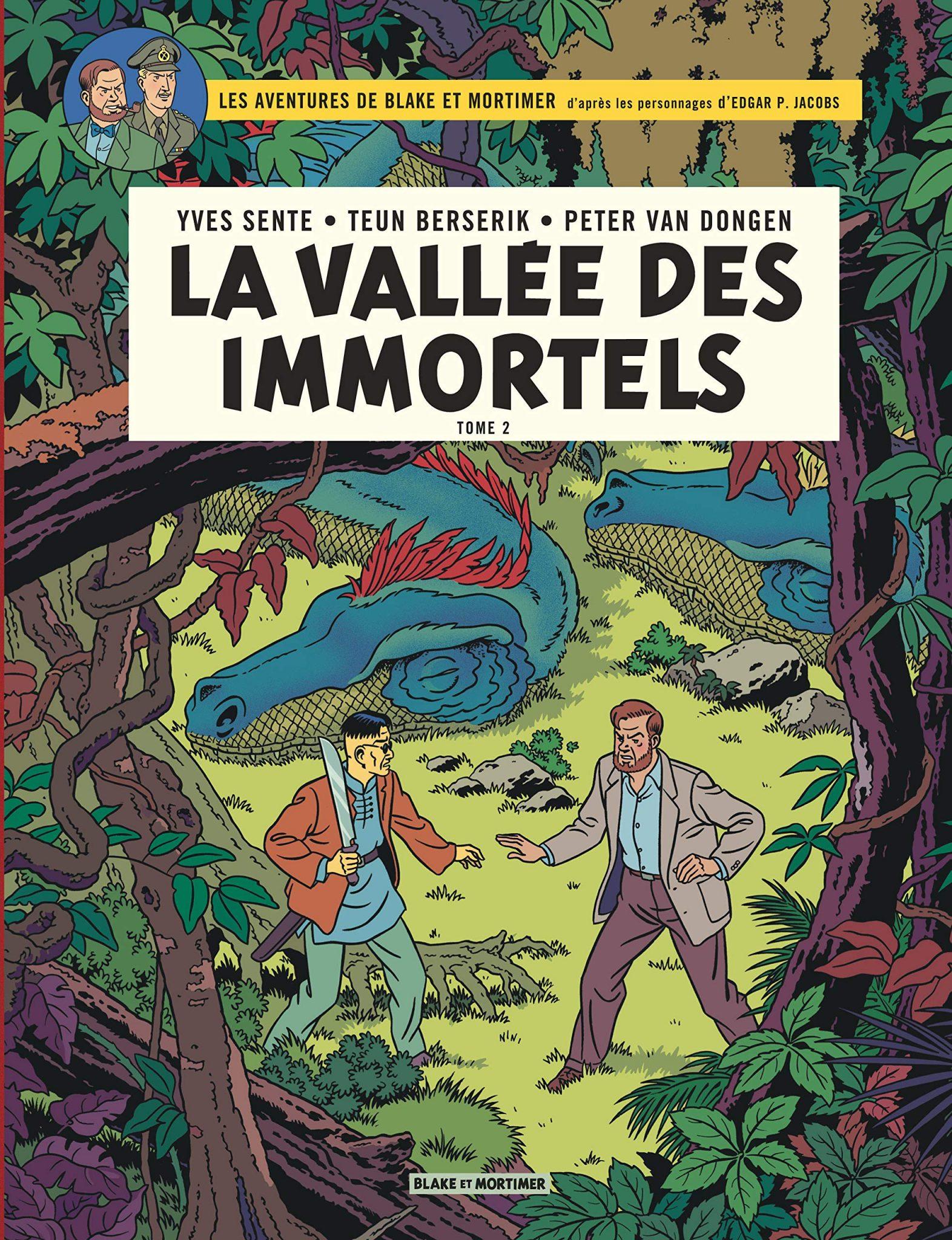Blake et Mortimer: La Vallée des Immortels, tome 2