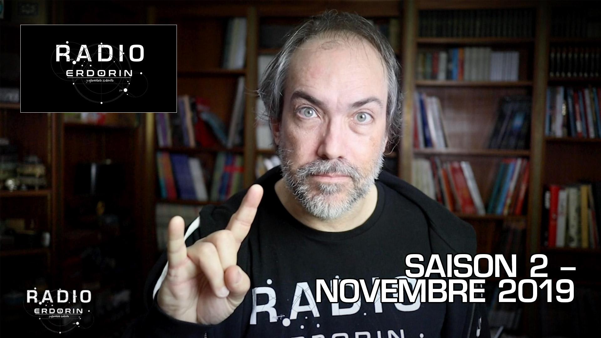 Radio-Erdorin S2E11 – Novembre 2019