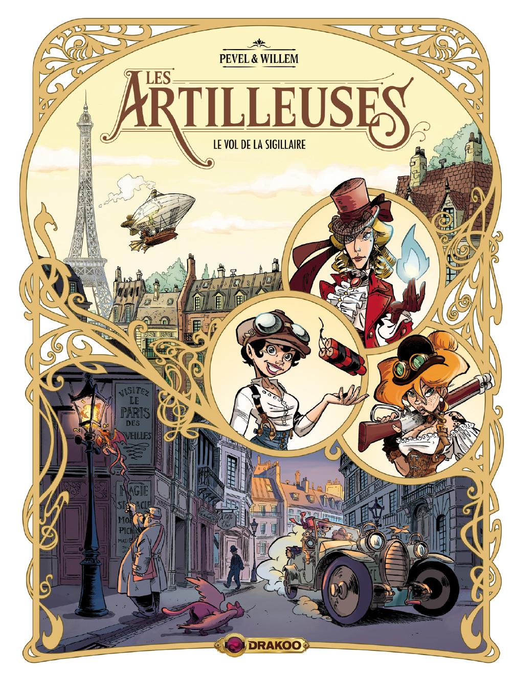 Les Artilleuses, tome 1