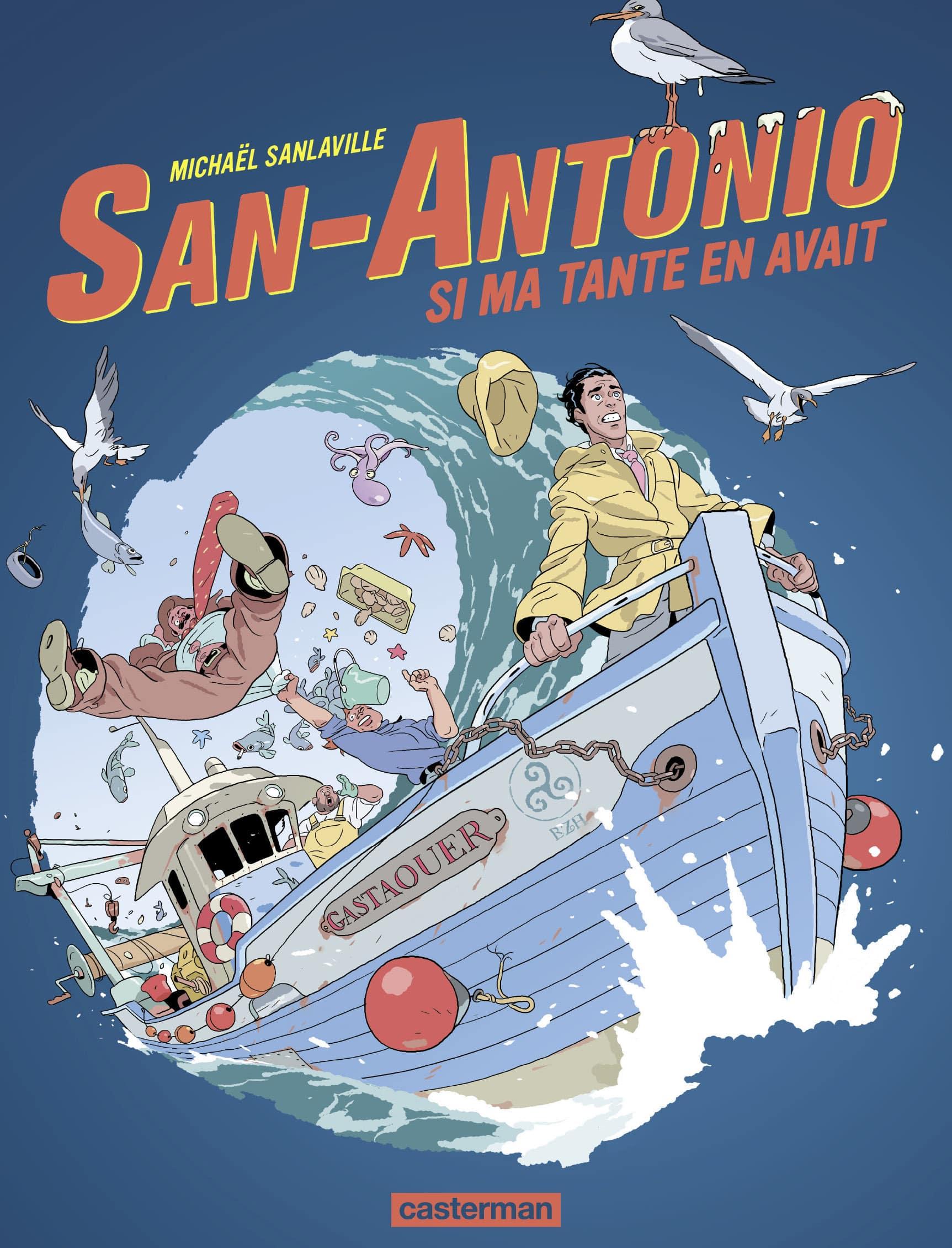 San-Antonio: Si ma tante en avait