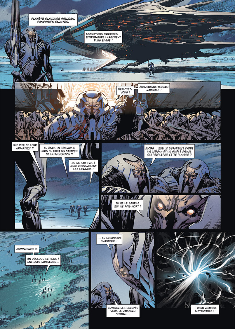 Crusaders, tome 1, page 1