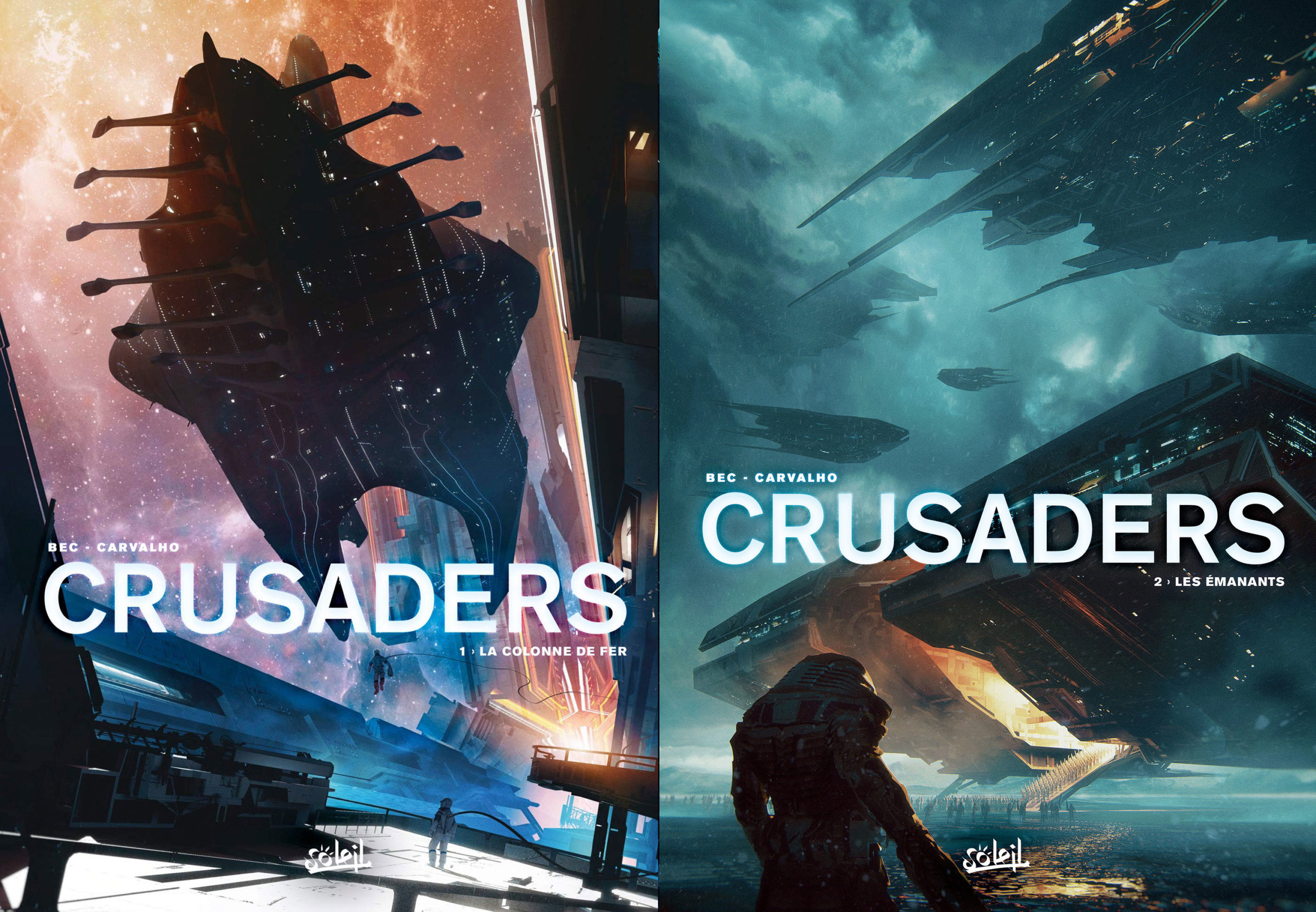 Crusaders, tome 1 et 2