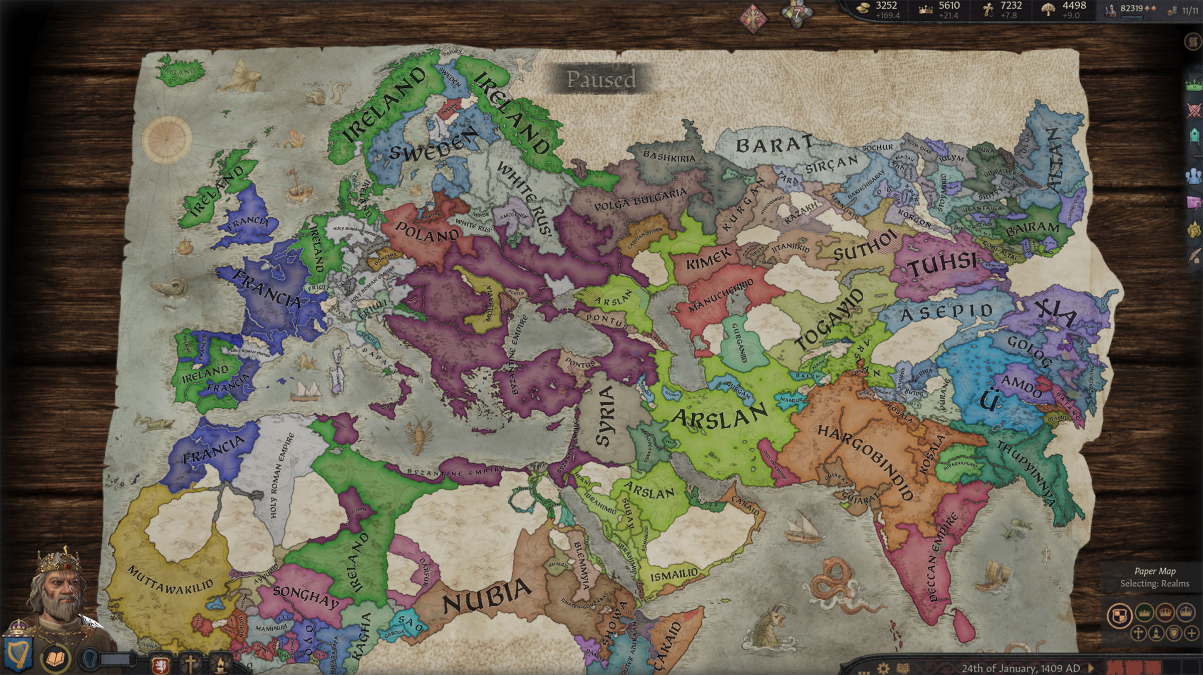 Crusader Kings III: Irlande 1409