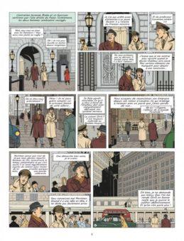 Blake et Mortimer - Le Cri du Moloch, page 6