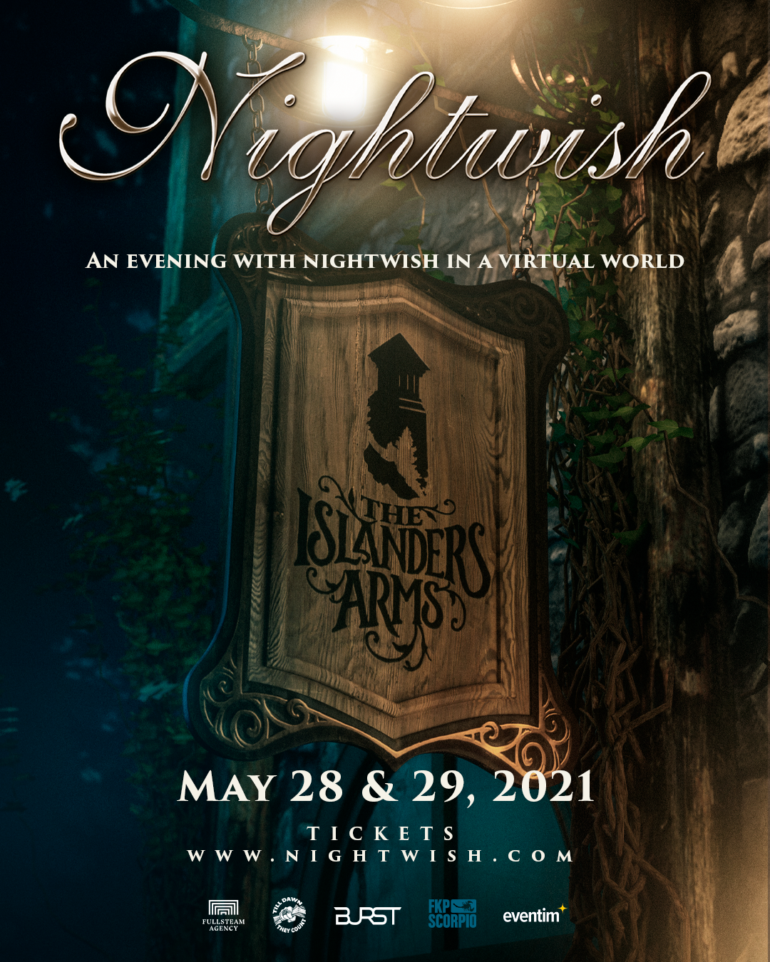 An Evening with Nightwish in a Virtual World