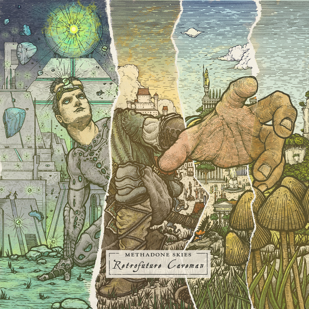 Methadone Skies: Retrofuture Caveman